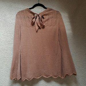 Cozy Auburn Knitted Sweater